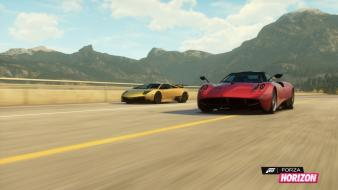 Video games pagani huayra forza horizon wallpaper