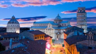 Architecture pisa italy bing leaning tower of wallpaper