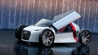 Audi luxury sport car cars concept engines Wallpaper
