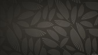 Backgrounds leaves patterns surface templates wallpaper