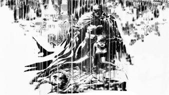 Batman rain dc comics catwoman sketches gotham city wallpaper