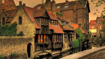 Belgium bruges europe european cityscapes wallpaper