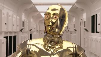 C3po star wars futuristic movies spaceships wallpaper