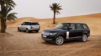 Cars desert ride range rover wallpaper