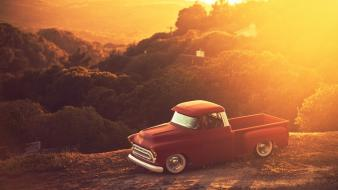 Cars stance works cliff chevy stepside wallpaper