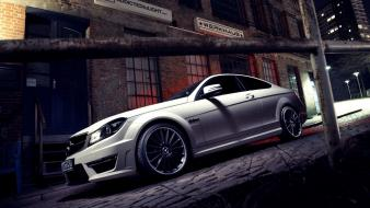 Cars vehicles mercedes-benz mercedes benz c63 amg automobile wallpaper