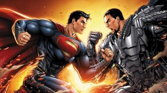 Dc comics superman superheroes artwork general zod kal-el wallpaper