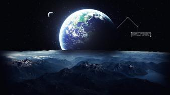 Earth artwork graphic art wallpaper