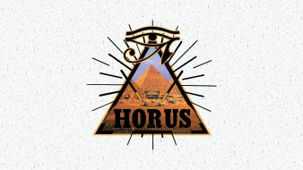 Eyes wall pyramids magick freemason horus wallpaper