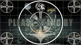 Fallout bethesda softworks test pattern wallpaper