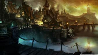 Fantasy art cataclysm artwork wallpaper
