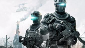 Futuristic ghost recon future soldier wallpaper