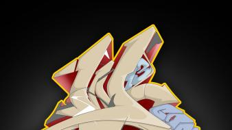 Graffiti work wallpaper