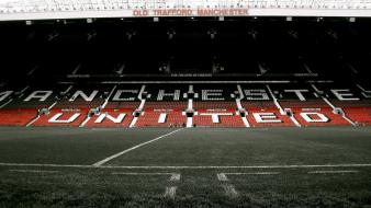 Grass stadium seat manchester united old traford wallpaper
