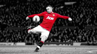 Hdr photography wayne rooney manchester united football wallpaper
