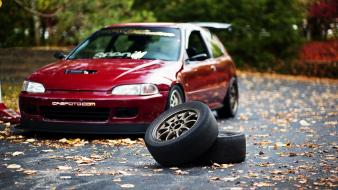 Honda civic wheel wallpaper