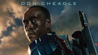 Iron man 3 james rupert rhodey rhodes wallpaper