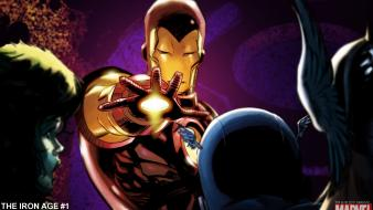 Iron man marvel comics widescreen wallpaper