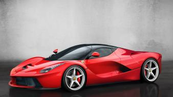 Italian front angle view supercar hypercars laferrari wallpaper