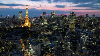 Japan cityscapes asia capital cities wallpaper