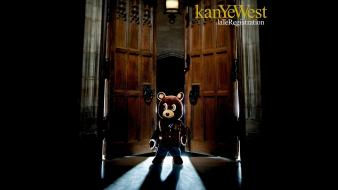 Kanye west album covers hip-hop music rap wallpaper