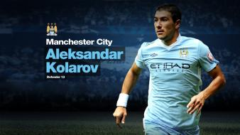 Manchester city football players premier league soccer wallpaper