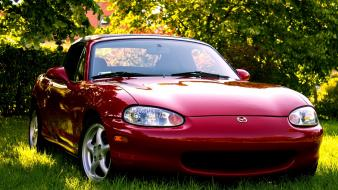 Mazda mx-5 miata savanna rx-7 cars wallpaper