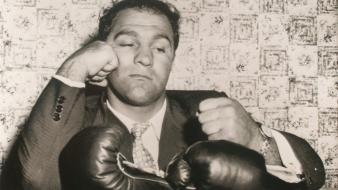 Monochrome rocky marciano wallpaper