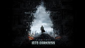 Movies star trek science fiction into darkness wallpaper