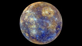 Outer space planets mercury wallpaper