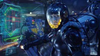 Pacific rim rinko kikuchi armor screenshots suit wallpaper
