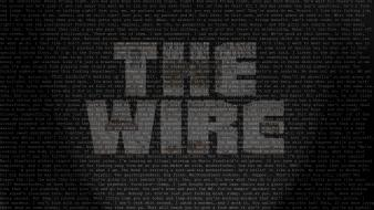 Quotes typography tv series the wire hbo wallpaper