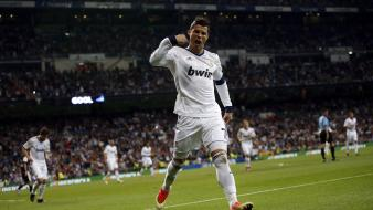 Real madrid cristiano ronaldo athletes soccer stars wallpaper