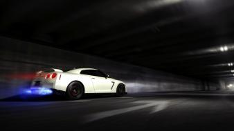 Roads vehicles skyline r35 gt-r gtr automobile Wallpaper