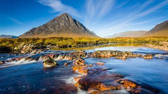 Scotland landscapes mountains natural scenery nature wallpaper