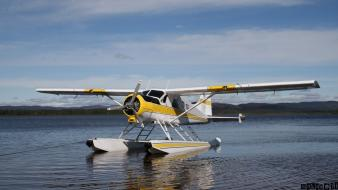 Seaplane de havilland canada dhc-2 beaver Wallpaper