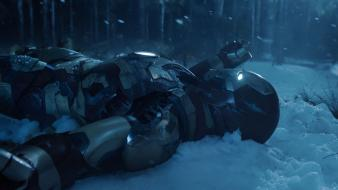 Snow iron man tony stark trailer 3 Wallpaper