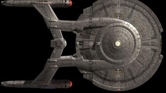 Spaceships science fiction enterprise black background sci-fi wallpaper
