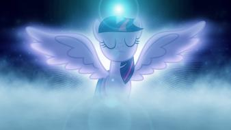 Sparkle blue light pony: friendship is magic wallpaper