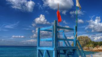 Station italy hdr photography calabria yoctox lifeguard sea wallpaper