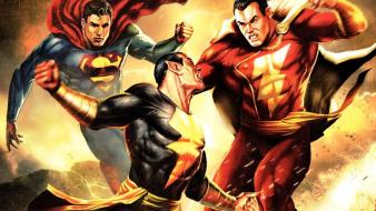 Superman dc captain marvel black adam Wallpaper
