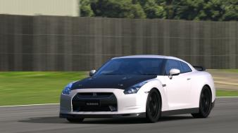 Turismo 5 playstation 3 nissan gtr spec-v wallpaper