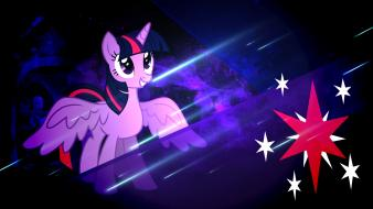 Twilight sparkle pony: friendship is magic meteors wallpaper