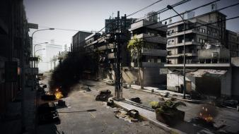 Video games battlefield 3 cities wallpaper