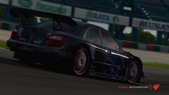 Video games cars subaru forza motorsport 4 wallpaper