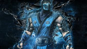 Video games fantasy art mortal kombat sub-zero wallpaper