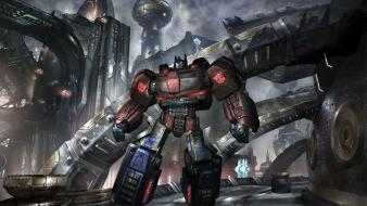 Video games optimus prime transformers war for cybertron wallpaper