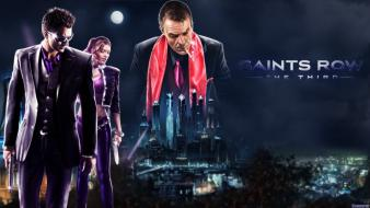 Video games saints row: the third wallpaper