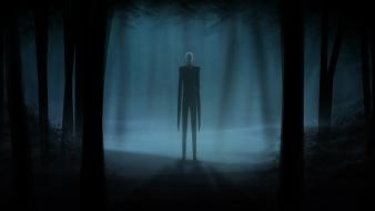 Video games slender man wallpaper