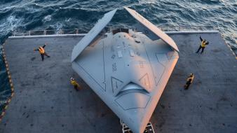 Aircraft carriers drones x-47b wallpaper